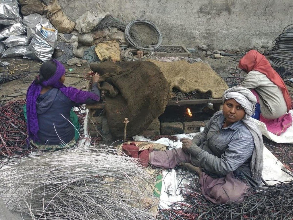 , Electronic waste is recycled in appalling conditions in India, The Circular Economy, The Circular Economy