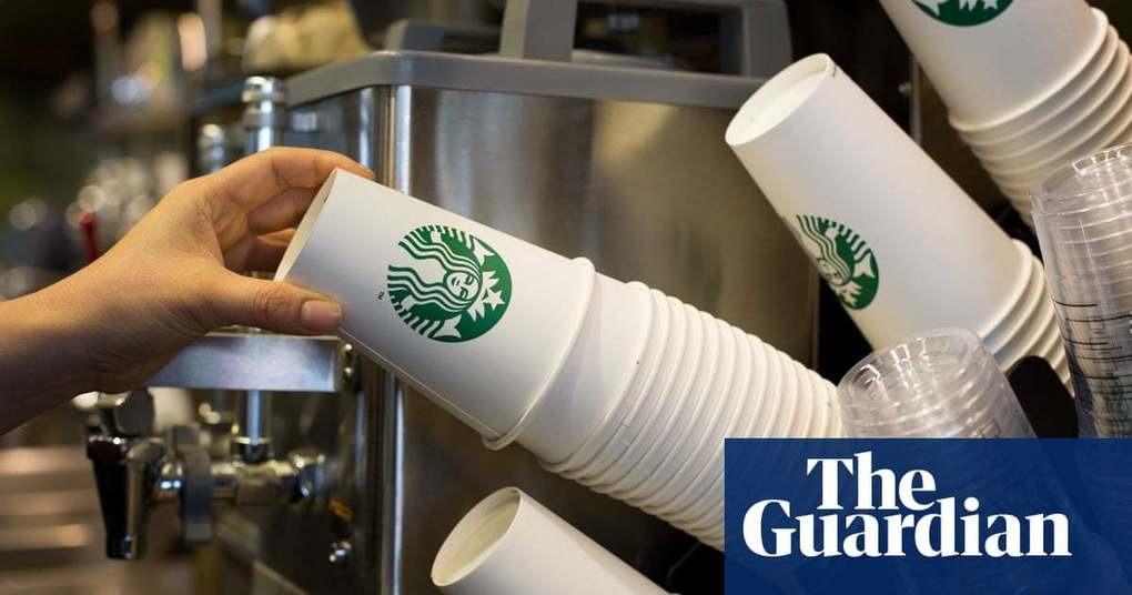 , Starbucks introduces 'latte levy' of 5p on single-use paper cups, The Circular Economy