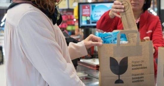 , Eroski Introduces Paper Alternative To Single-Use Plastic Bags, The Circular Economy