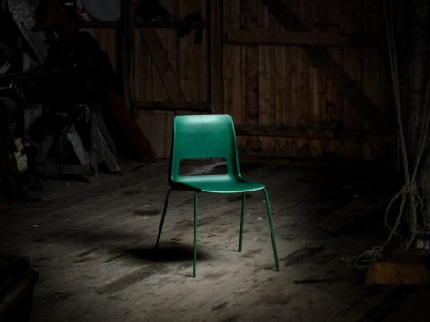 , Snøhetta unveils S-1500 chair made from discarded fish nets, The Circular Economy