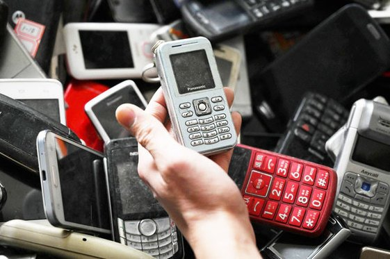 , Cell phone 'Tower of Babel' highlights China e-waste problem, The Circular Economy