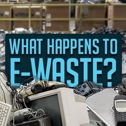 , Irish e-waste found dumped in developing countries, The Circular Economy
