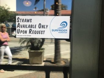 , THE LAST STRAW | Restaurants, events ditch single-use straws in environmental push|VC Reporter | Southland Publishing, The Circular Economy