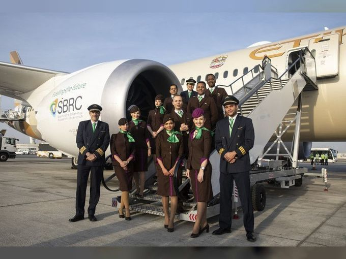 , Etihad Airways to operate first single-use plastic free flight, The Circular Economy, The Circular Economy