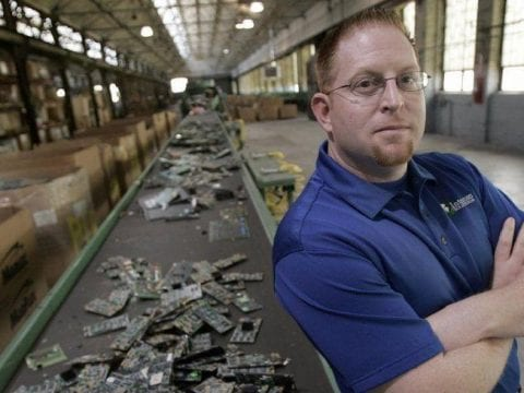 , A recycling kingpin is sentenced to 3 years in federal prison for e-waste disposal fraud —, The Circular Economy, The Circular Economy