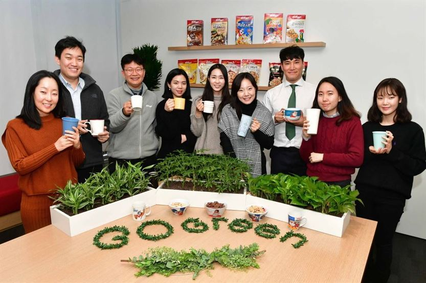 , Going green: Kellogg Korea bans single-use items in offices, The Circular Economy