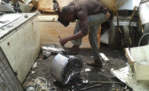 Toxic chemicals discovered in African eggs gathered from e-waste dumpsite, The Circular Economy
