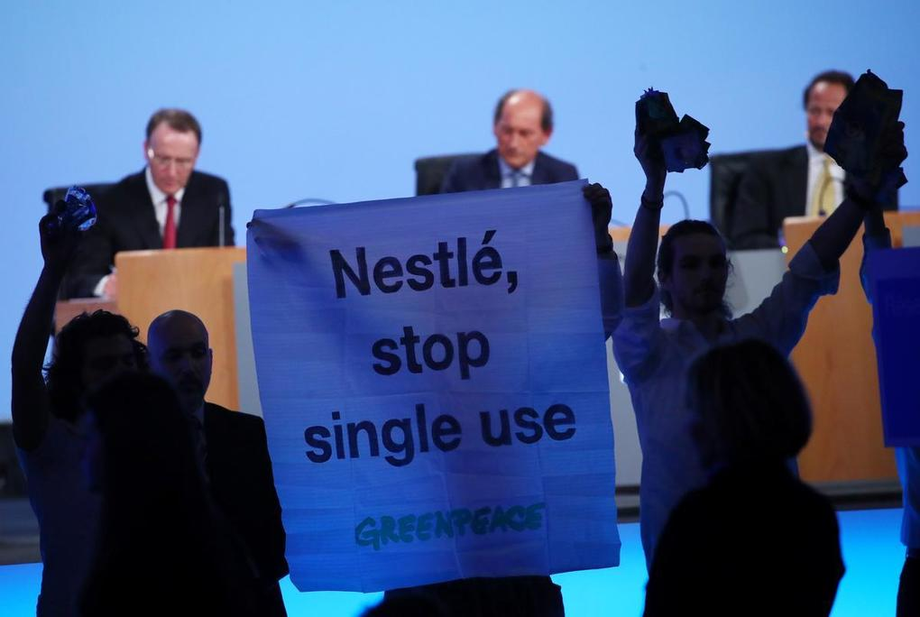 , Greenpeace calls for Nestle to act over single-use plastics – Reuters, The Circular Economy, The Circular Economy