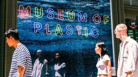 , Pop-Up NYC Museum Highlights Burden of Single-Use Plastics, The Circular Economy, The Circular Economy