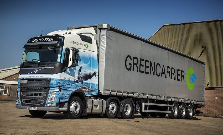 , Volvo's sustainability standards suit Greencarrier Freight Services, The Circular Economy, The Circular Economy