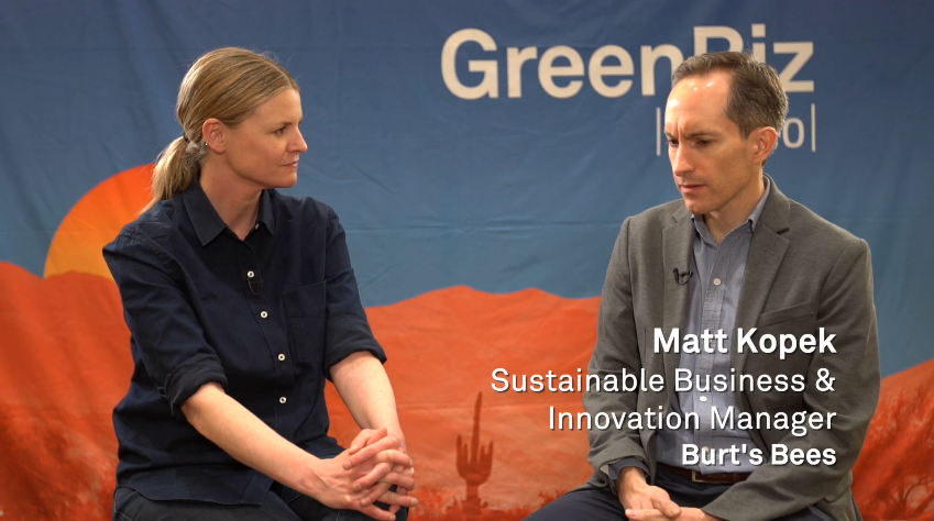 , Burt's Bees' Matt Kopac on data and tools for sustainability in the beauty and personal care sector, The Circular Economy