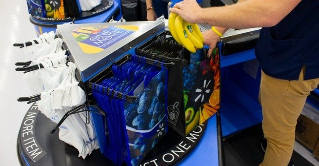 Focusing on sustainability, Walmart launches reusable bag campaign, The Circular Economy