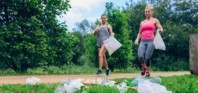 , Silk rallies support to make sustainability-focused 'plogging' an Olympic sport, The Circular Economy, The Circular Economy