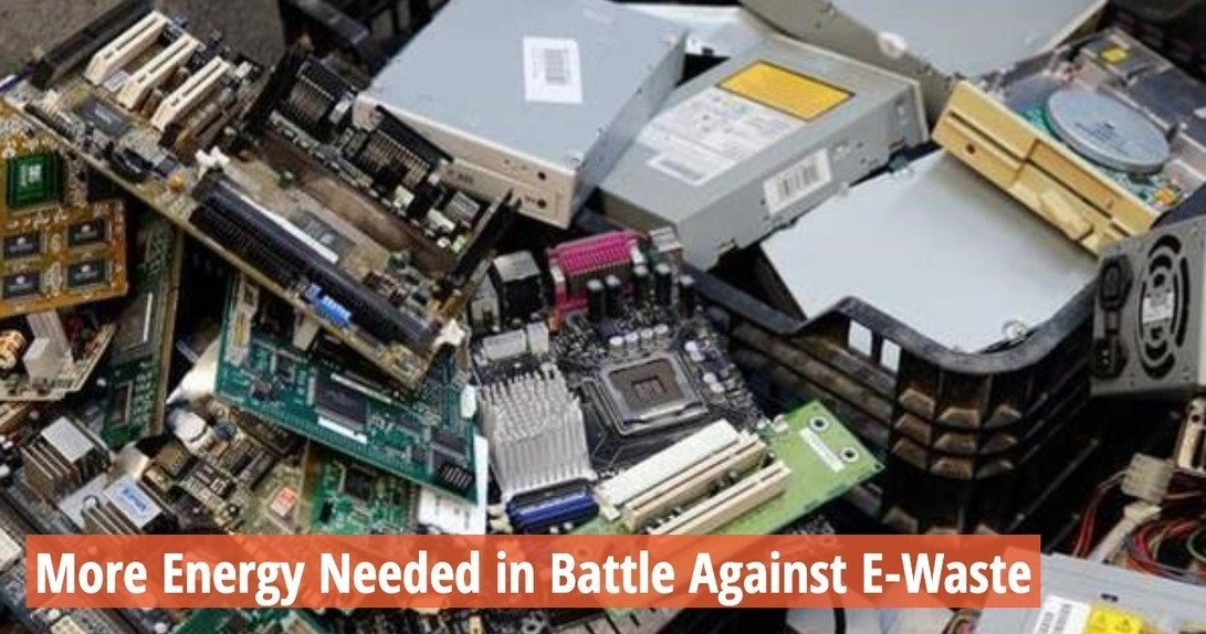 , More Energy Needed in Battle Against E-Waste, The Circular Economy, The Circular Economy