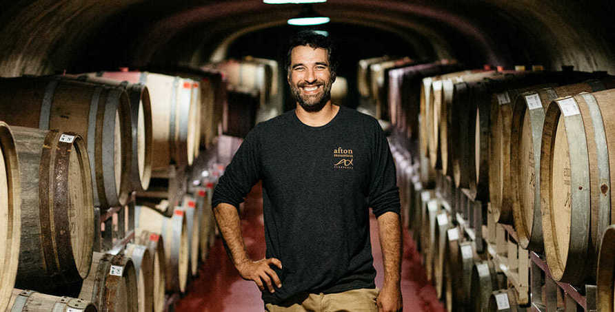 , The natural: Winemaker Damien Blanchon cultivates sustainability at Afton Mountain Vineyards, The Circular Economy, The Circular Economy