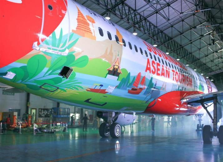 , AirAsia launches new sustainability livery, The Circular Economy, The Circular Economy