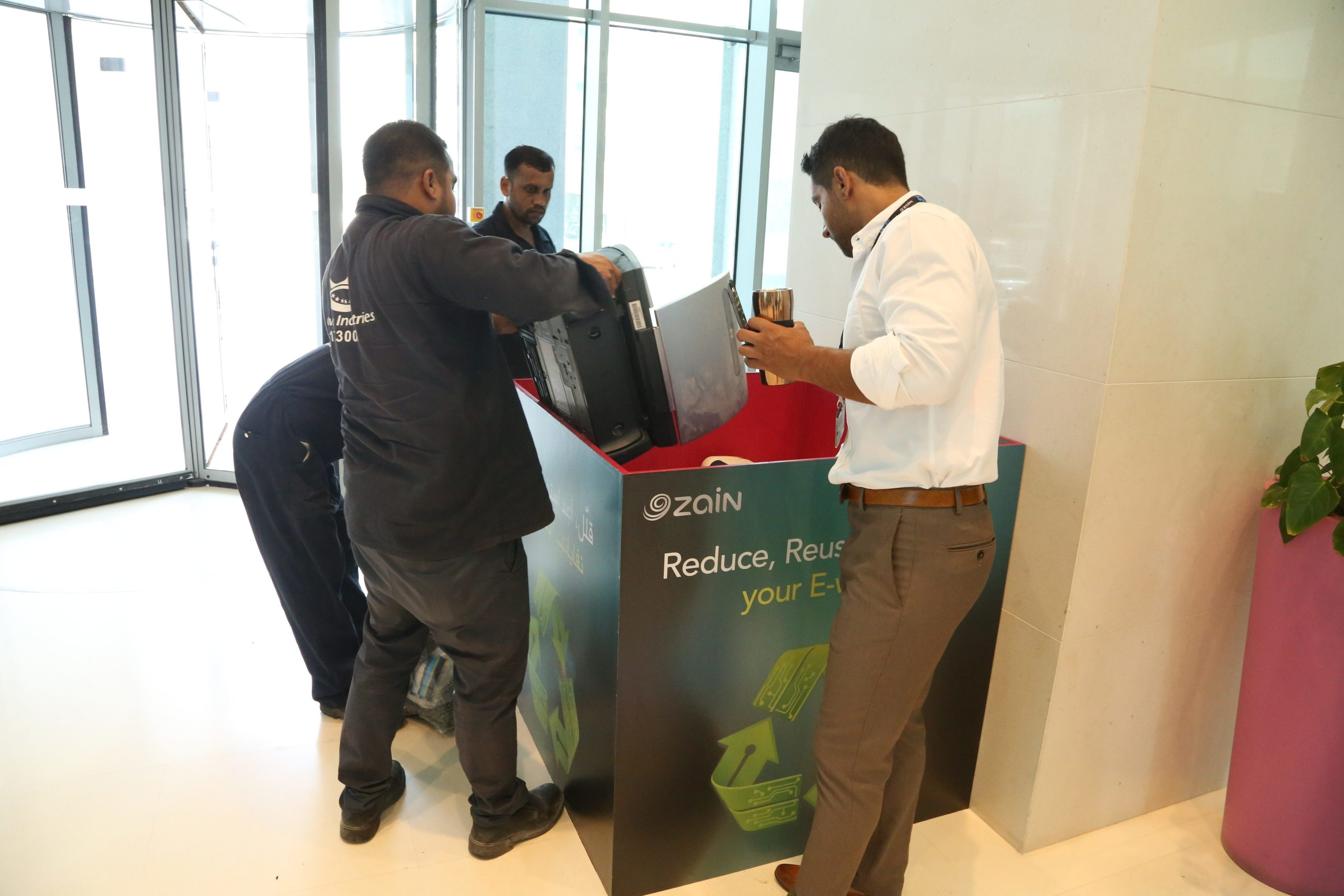 , Zain Bahrain in cooperation with the SCE and Crown Industries launches​ its e-Waste Recycling ​Initiative, The Circular Economy, The Circular Economy
