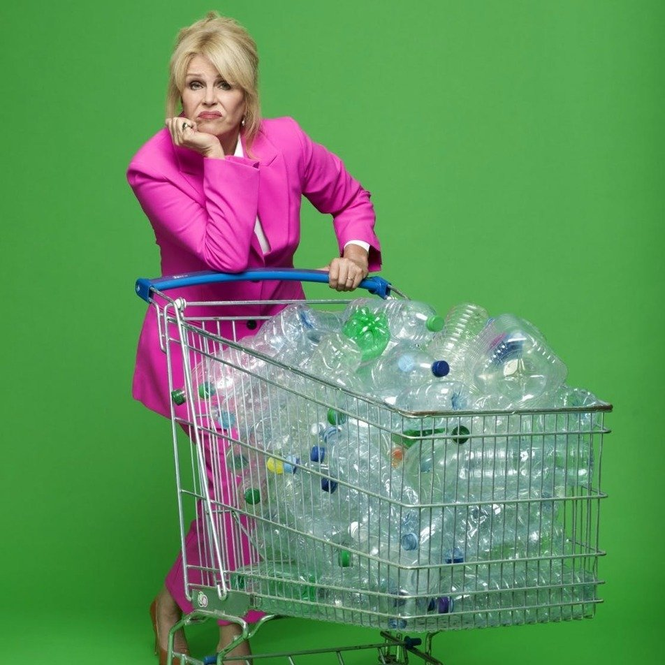 , Joanna Lumley talks sustainability and single-use plastic, The Circular Economy, The Circular Economy