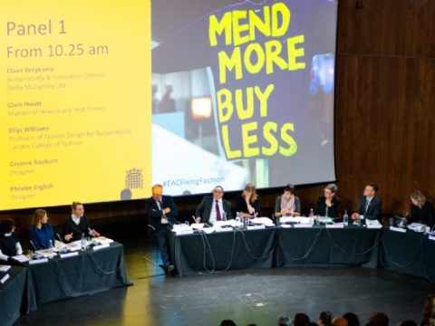 , Corporate action on fashion sustainability 'insufficient', MPs warned, The Circular Economy