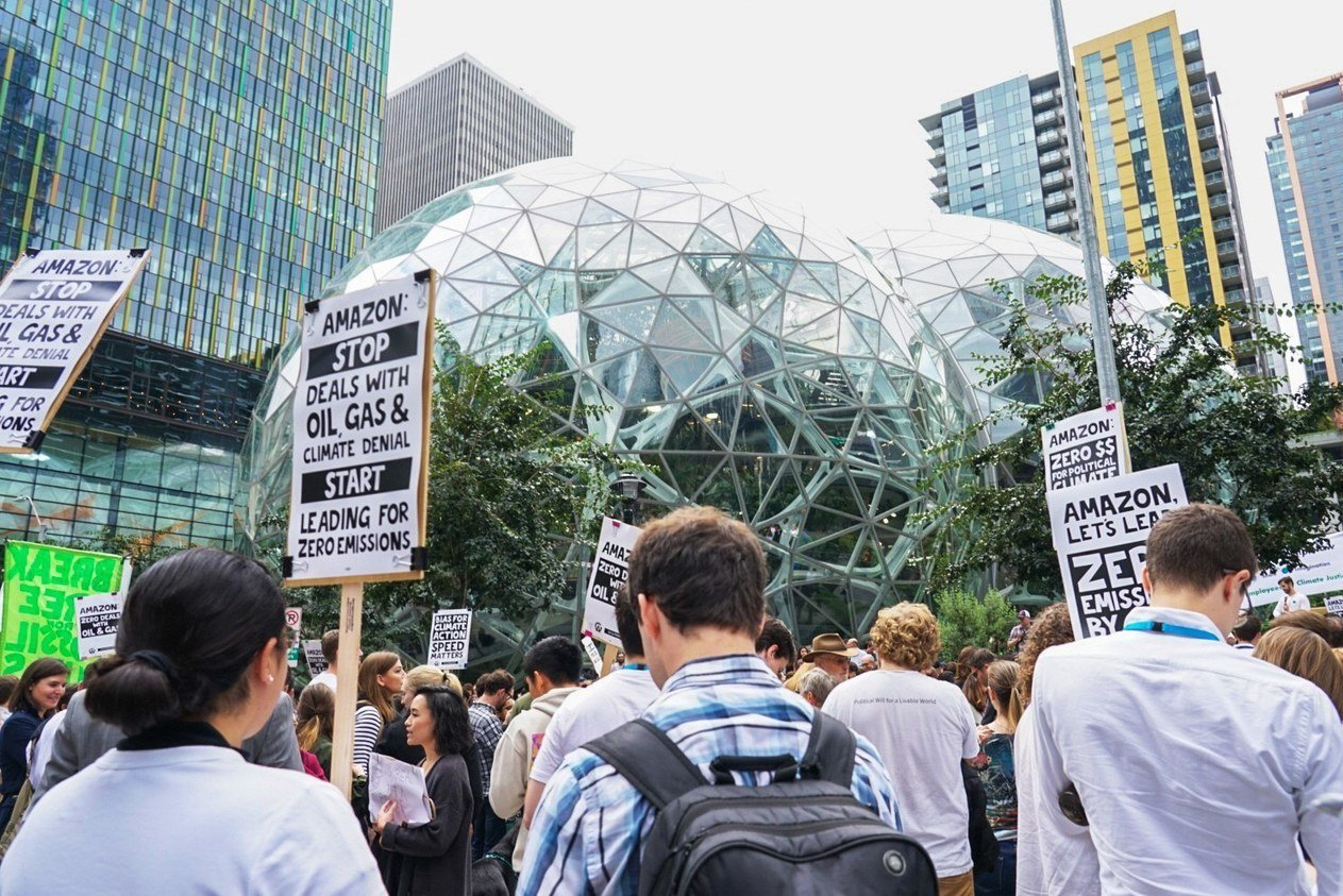 , Little Talk of Sustainability at Amazon's Big Hardware Event, The Circular Economy, The Circular Economy