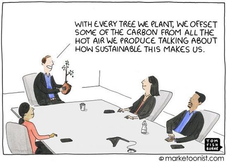 , Talking about Sustainability cartoon, The Circular Economy, The Circular Economy