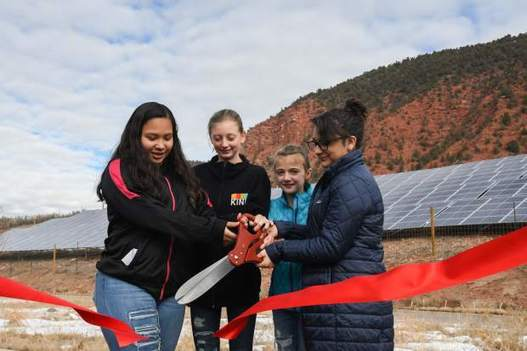 Glenwood's Riverview School celebrates sustainability, cost savings with solar array, The Circular Economy