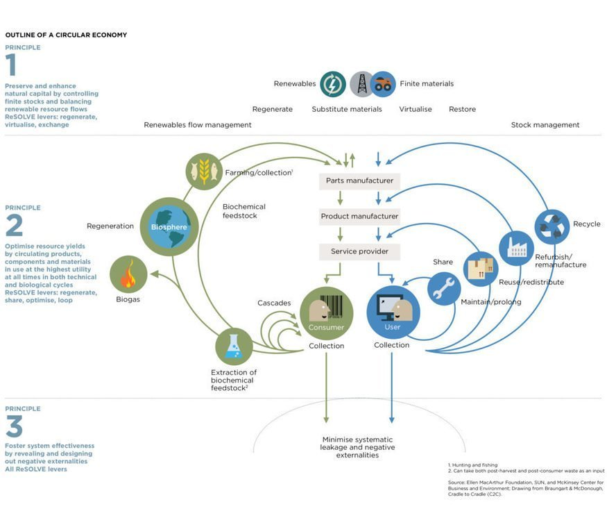 , Skoll Centre for Social Entrepreneurship | Sustainability in The Construction Sector, The Circular Economy, The Circular Economy