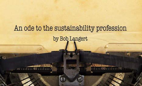 , An ode to the sustainability profession, The Circular Economy