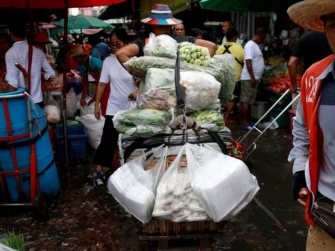 , Thailand bans single-use plastic bags at major stores, The Circular Economy