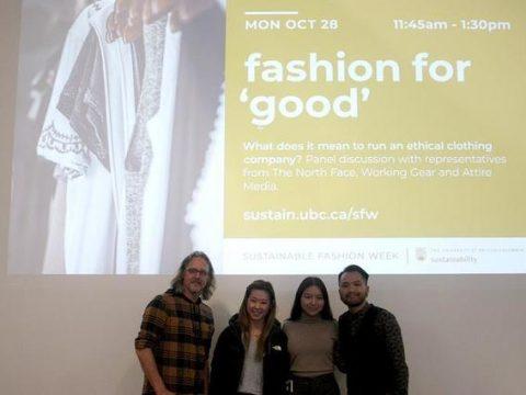 , UBC holds inaugural Sustainable Fashion Week, The Circular Economy, The Circular Economy