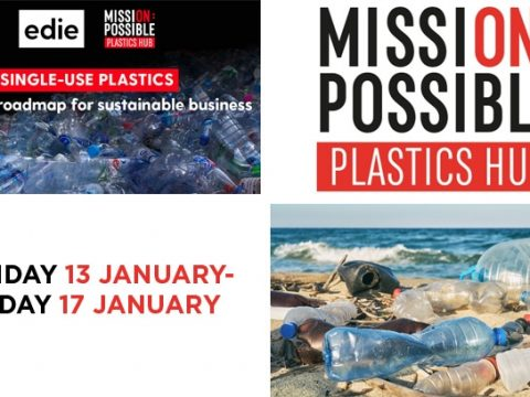 , Plastics Week: edie launches content campaign to help business eliminate single-use plastics, The Circular Economy