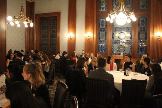 , Students Meet Industry Experts At Sustainability Careers Reception, The Circular Economy