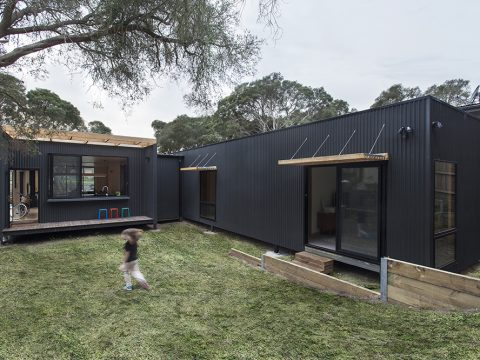 , Sustainable prefab beach house in Blairgowrie – Sustainable Architecture with Warmth & Texture | Designhunter, The Circular Economy