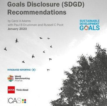 , Sustainable Development Goals Disclosure (SDGD) Recommendations, The Circular Economy, The Circular Economy