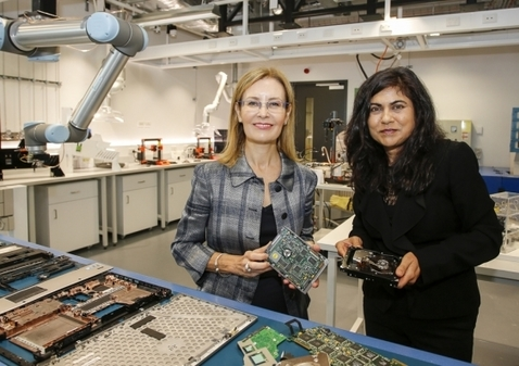 , E-Waste Microfactory Turns Waste into 3D Printer Filament, The Circular Economy