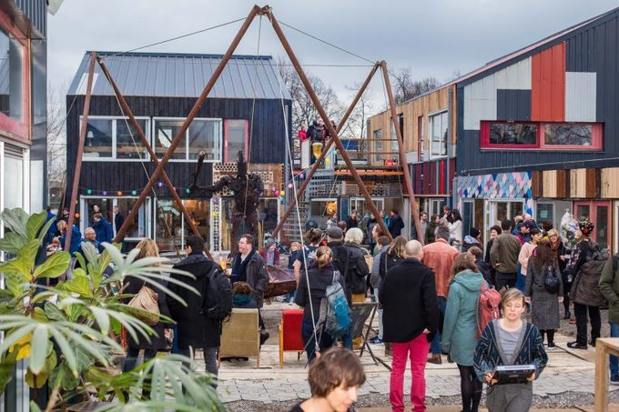 , Buzzing Urban Village Is A Testing Ground For The Circular Economy, The Circular Economy, The Circular Economy