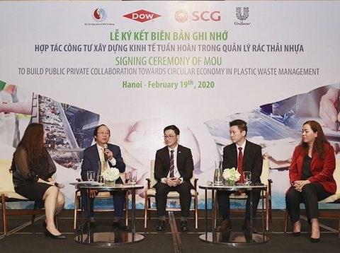 , Dow, SCG and Unilever to develop Vietnamese plastics circular economy, The Circular Economy