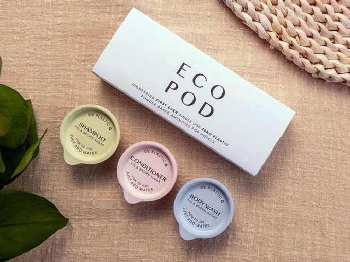 Compostable Personal Care Pods : single use products, The Circular Economy