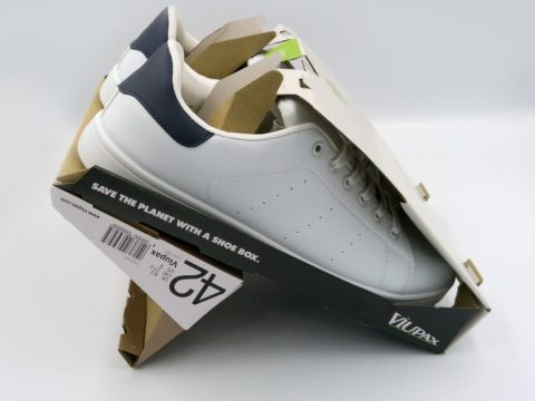 , Sustainable cardboard shoe box «, The Circular Economy