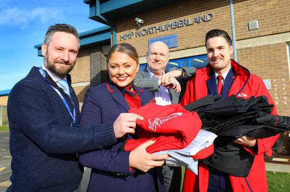 , Virgin Trains Worker Uniforms Recycled At Northumberland Prison, The Circular Economy