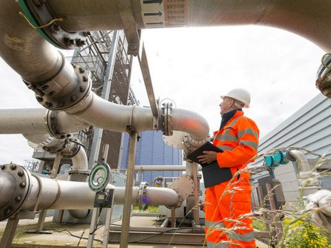 , 40 years of progress at Seafield wastewater treatment plant in Scotland | Veolia, The Circular Economy, The Circular Economy