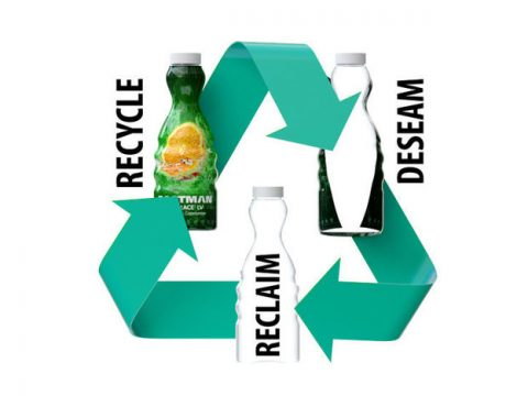 , Sun Chemical, Eastman Release Recycle-Friendly Shrink Sleeves Featuring De-Seamable Adhesive, The Circular Economy