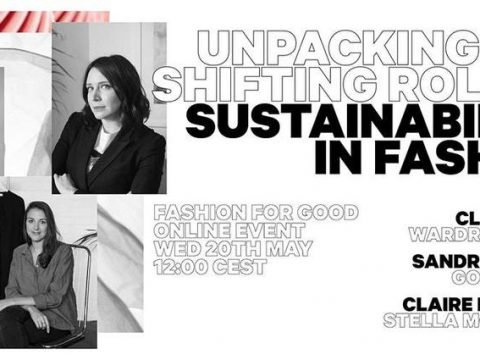 , Unpacking the Shifting Role of Sustainability in Fashion Tickets, Wed 20 May 2020 at 12:00, The Circular Economy