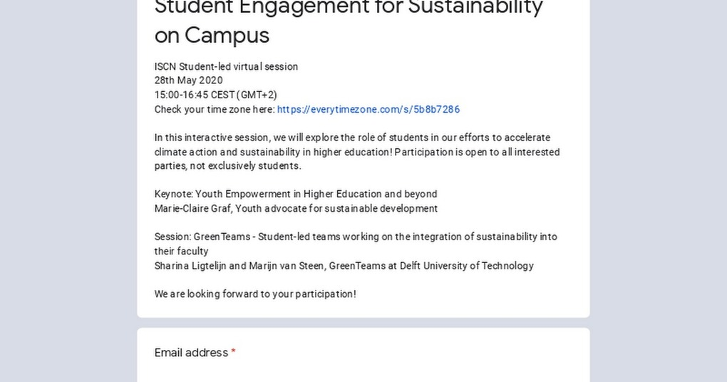 , Student Engagement for Sustainability on Campus, The Circular Economy
