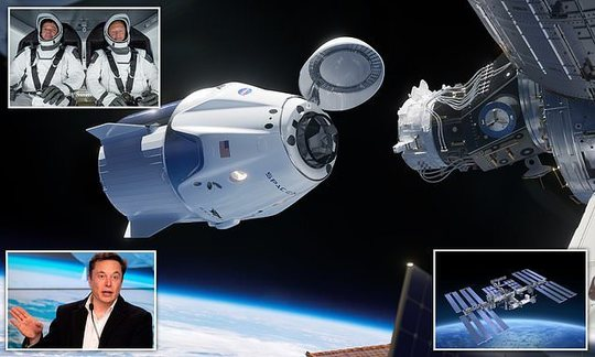 , SpaceX is nine days away from its first manned launch, The Circular Economy, The Circular Economy