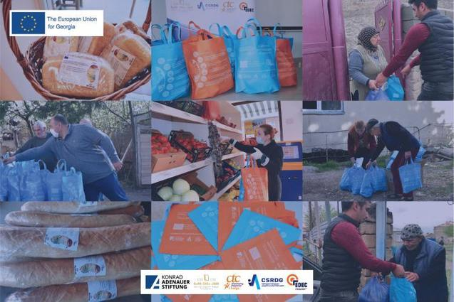 """, EU supported project """"Georgian Civil Society Sustainability Initiative"""" implemented innovative ways of delivering information to prevent further spread of COVID-19 – European External Action Service, The Circular Economy, The Circular Economy"""