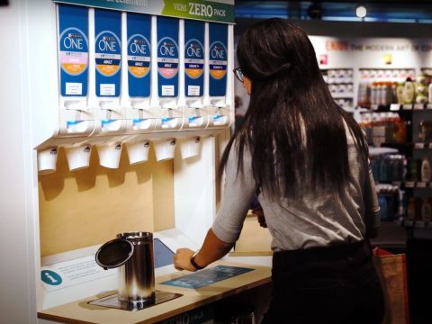 , Nestlé Tests Out Refillable Food Dispensers in Switzerland, The Circular Economy