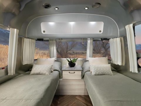 , Airstream updates Flying Cloud and International trailer with sustainable posh interiors, The Circular Economy, The Circular Economy