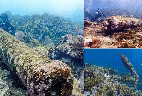 , Coral-coated shipwreck found off the coast of Mexico crashed into the 'Nightmare reef' 200 years ago | Daily, The Circular Economy, The Circular Economy