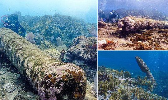 , Coral-coated shipwreck found off the coast of Mexico crashed into the 'Nightmare reef' 200 years ago   Daily, The Circular Economy